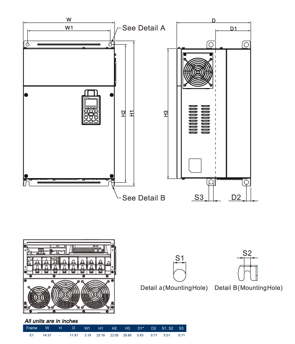230v Variable Frequency Drives Wiring A Vfd Dimensions Diagram