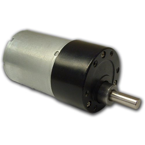 Small DC Motors with Spur Gearboxes - BDSG-37-40-6V