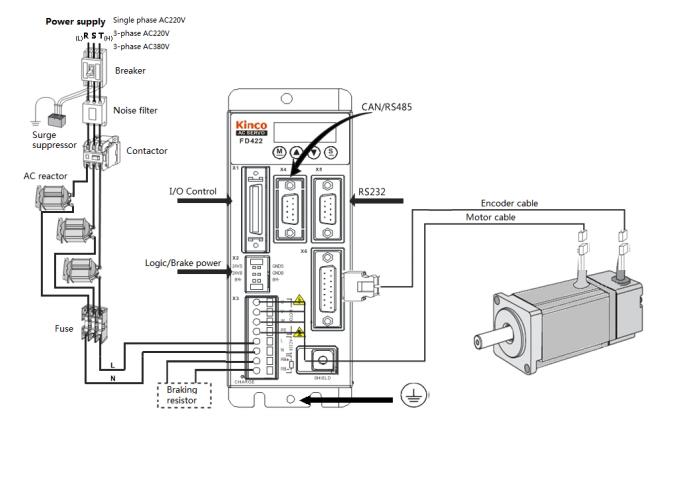 ac servo motor wiring diagram solidfonts servo motor wiring diagram and schematic design