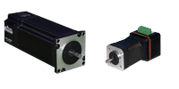 Stepper Motors with Integrated Drivers