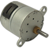 Permanent Magnet (PM) Stepper Motors with Spur Gearboxes - TGM25