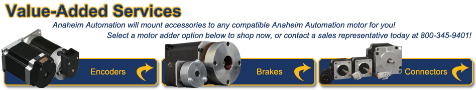 Value Added Assemblies Banner blwr23 brushless dc motors  at fashall.co