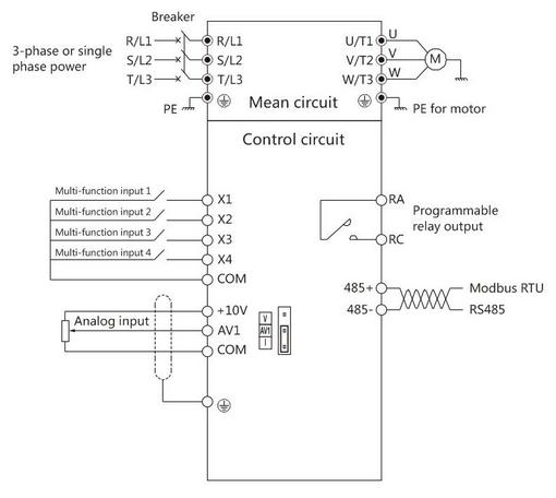 Dimensions Wiring Diagram