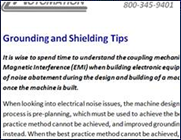 Grounding and Shielding Tips
