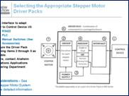 Selecting the Appropriate Stepper Driver Pack