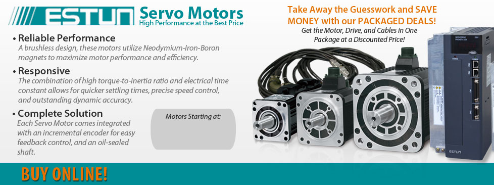 Save 20 50 on servo motors and drives anaheim automation for Servo motors and drives
