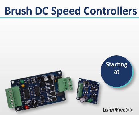 brush dc speed controllers