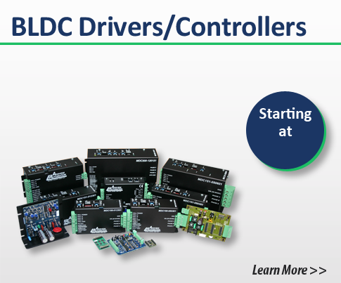 brushless dc drivers controllers