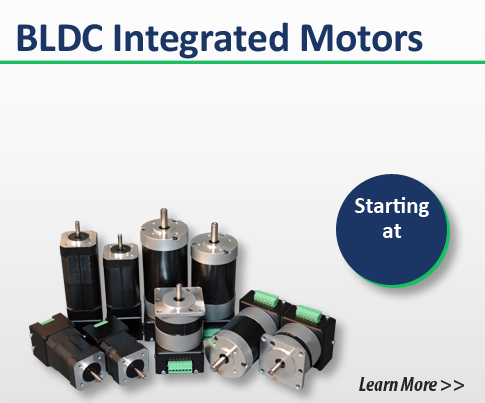 brushless dc integrated motors