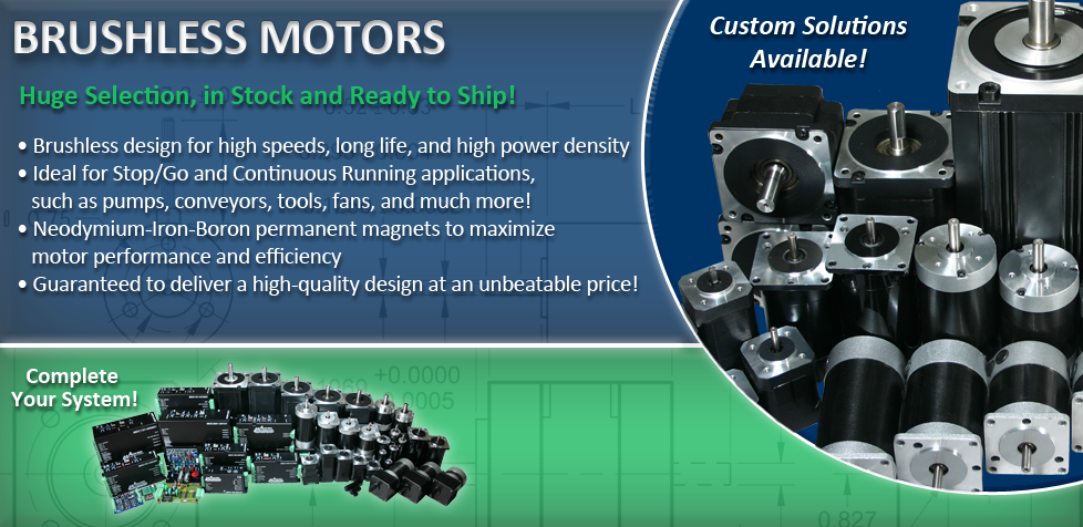 Brushless DC Motors | Low Prices, High Quality