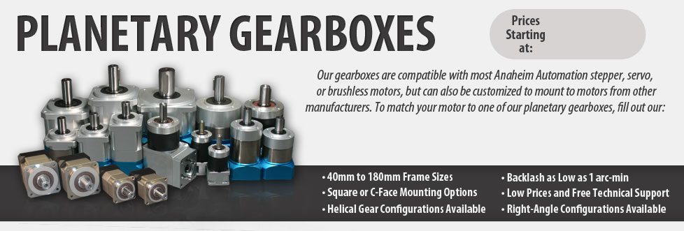 High-Precision Planetary Gearboxes   Anaheim Automation