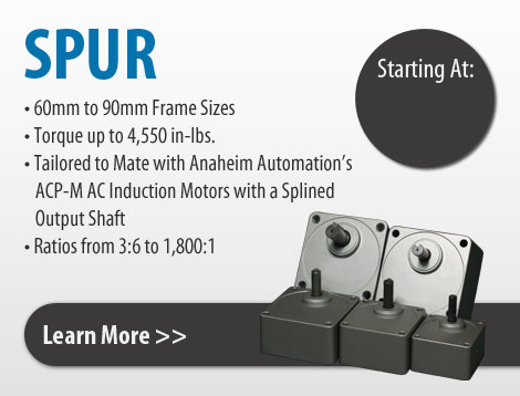 spur gearboxes