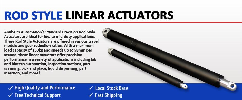 Rod Style Actuators