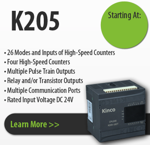 K205 series kinco programmable logic controller