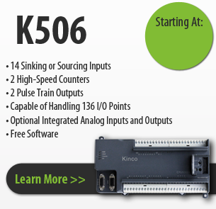 K506 series kinco programmable logic controller