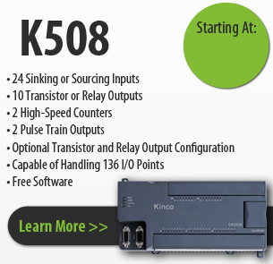 K508 series kinco programmable logic controller
