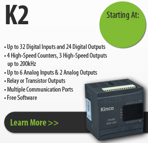 K2 series kinco programmable logic controller