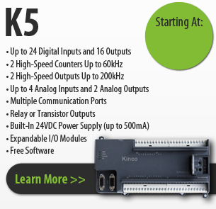 K5 series kinco programmable logic controller