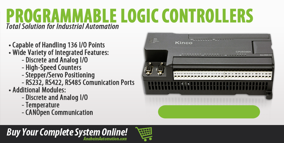 Anaheim Automation | Shop Online for Low Cost PLC Products